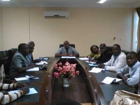 Le ministre de la communication a rencontré les directeurs de la communication