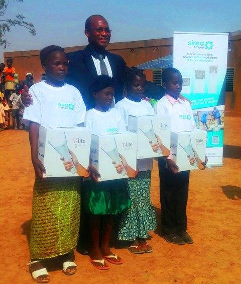 Ecole primaire publique de Kamboinsé: Sirea Afrique a célébré l'excellence
