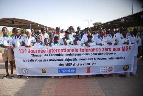 Lutte contre les mutilations génitales féminines: Une marche de sensibilisation et de plaidoyer