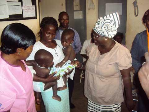 Lutte contre la malnutrition infantile: H.K.I dans la dynamique de sauvetage des enfants malnutris du Zondoma