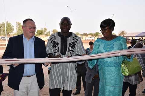 Ouagadougou a un nouveau centre régional de transfusion sanguine