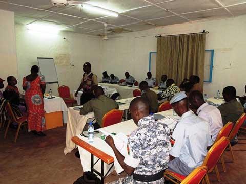 Réinsertion socio-économique des détenus: L'INSS renforce les capacités des Gardes de sécurité pénitentiaire