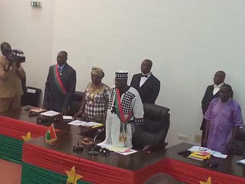 Première session ordinaire de l'Assemblée: Salifou Diallo invite les députés à transcender l'esprit partisan