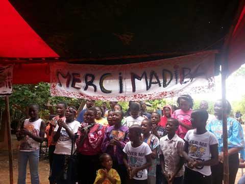 Mandela day: L'ambassade d'Afrique du Sud donne du sourire aux enfants en détresse