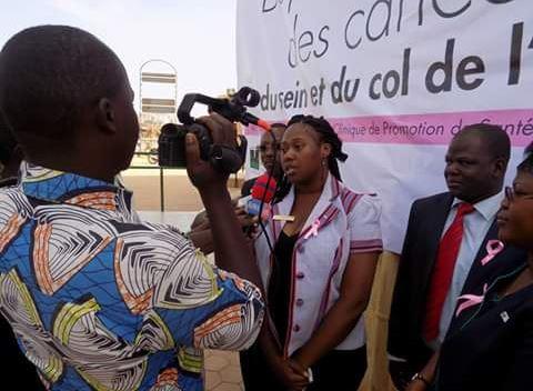Santé: La Jeune Chambre Internationale Ouaga Golden lutte contre les cancers du sein et de col de l'utérus