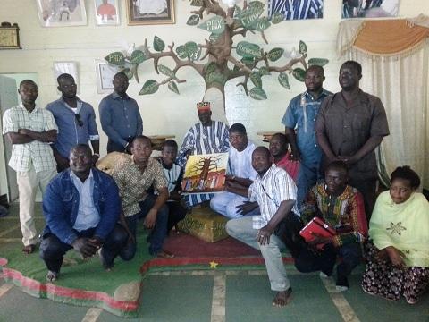 Palais du Mogho Naba: Les jeunes de l'UPC du Kadiogo reçus par sa majesté