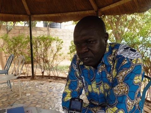 '' Nous n'avons jamais été au pouvoir, … ce sont toujours les mêmes qui sont au pouvoir  '', dixit Boubacar Sannou, vice-président chargé de la jeunesse du CDP