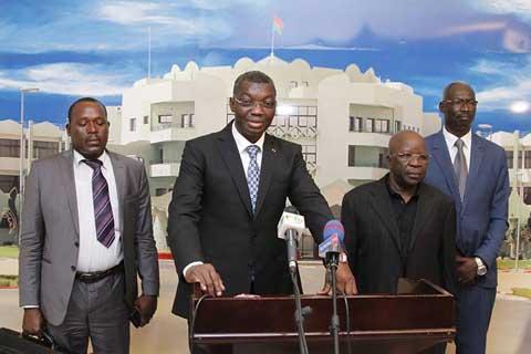 Coopération Burkina-Togo: Les deux ministres de la sécurité ont échangé