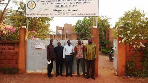 Situation nationale: Une délégation des jeunes du CDP, en visite au MBDHP,  s'inquiète de la situation de leurs «camarades»en détention