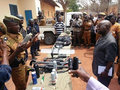 Simon Compaoré à propos des conditions de travail des gendarmes: «C'est préoccupant…»