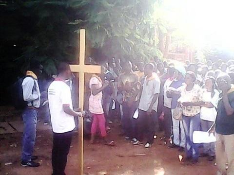 Carême: La Paroisse Saint Albert Le Grand de la  Rotonde a marché sous le signe de la miséricorde