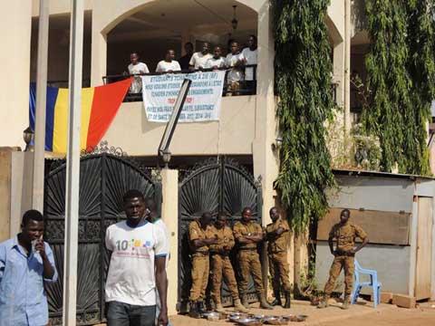 Grève des Etudiants tchadiens de 2iE: Ambiance d'un mardi pas comme les autres
