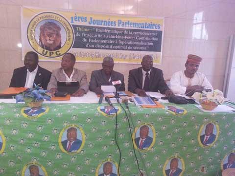 Sécurité au Burkina: Le groupe parlementaire UPC pour une relecture de la stratégie nationale de sécurité intérieure
