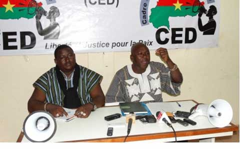 Gestion de la Transition: Le CED charge Zida et ''ses OSC partenaires ''