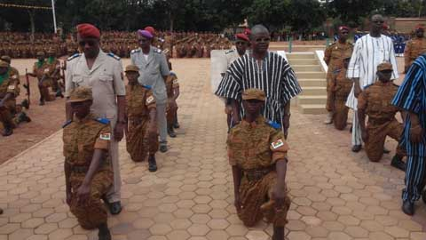 Forces armées nationales: 1086 soldats prêts à servir la Nation
