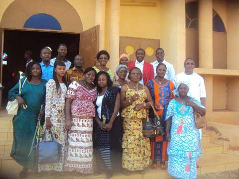 Recollection 2016 de l'UCAP-Burkina: Des journalistes et communicateurs ont médité sur le Salut et la Miséricorde à Ouahigouya