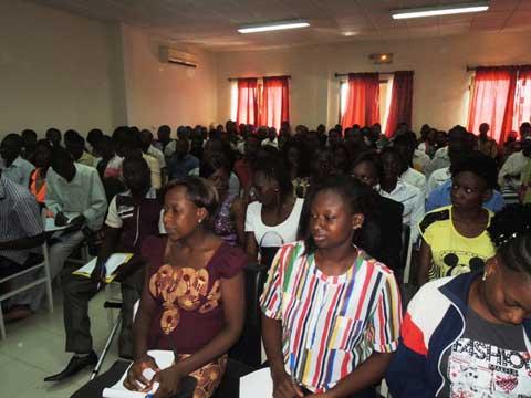 Lutte contre le chômage: 100 jeunes à l'école de  l'entrepreneuriat agricole