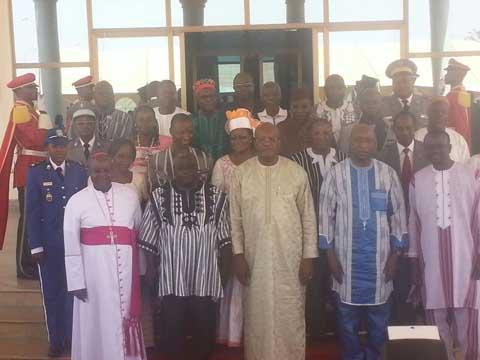 Réconciliation nationale: Les membres du Haut conseil sont officiellement installés