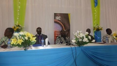 IRC et la jeunesse estudiantine: Un face à face pour parler emplois dans le secteur de l'eau