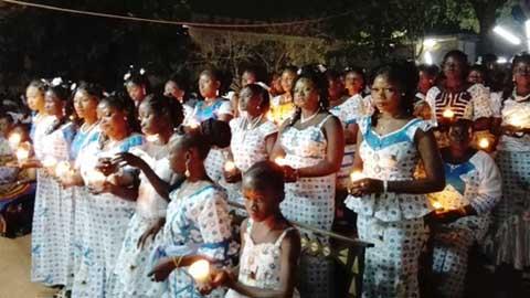 Pâques 2016: Mgr Paul OUEDRAOGO «que rien ne vous enlève cette joie de la Résurrection»