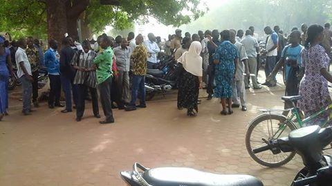Sit- in au ministère de l'administration territoriale: Des agents exigent une prise en compte de leurs préoccupations