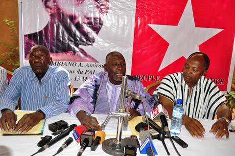 «Les dirigeants  du MPP qui ont usurpé le pouvoir d'Etat n'ont jamais respecté la Constitution», Soumane Touré, président du PITJ