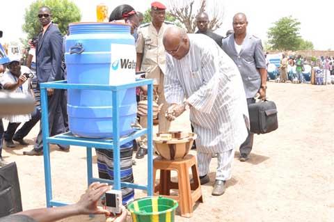 Eau potable et en assainissement: Le programme présidentiel en marche depuis  Kougsin