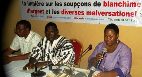 Lutte contre la corruption: Claude Wetta reconduit à la tête du REN-LAC et Hervé d'Africk grand lauréat du prix