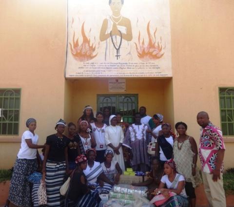 Orphelin Home Kisito: Une remise de don en appui aux efforts du centre