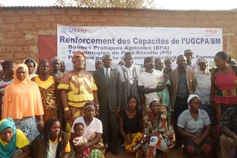 Sécurité alimentaire: L'Ambassadeur américain était à Dédougou