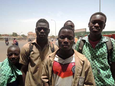 Ouagadougou: Des élèves ont manifesté pour de meilleures conditions d'études