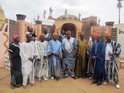 Na Baasga à Issouka: Naaba Saaga 1er prêche le message de la cohésion