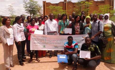 Secteur agricole: Un atelier pour renforcer les capacités institutionnelles et techniques des jeunes et des femmes