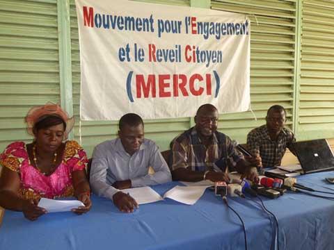 MERCI: Une nouvelle OSC pour promouvoir la bonne gouvernance