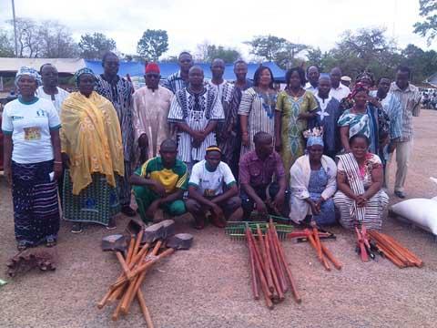 Agriculture: Le soja et le maïs à l'honneur à Pô