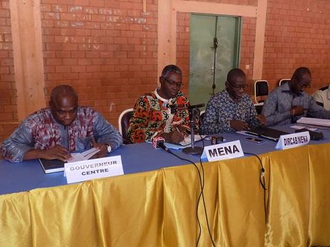 Education: Le Ministre  Jean-Matin Coulibaly a rencontré les chefs d'établissements du Centre