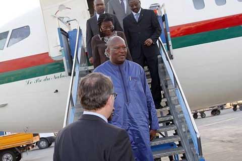 Sommet de l'OCI: Le Président du Faso est arrivé à Istanbul