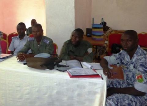 Réinsertion socio-économique: Les capacités des gardes de sécurité pénitentiaire renforcées en mooré et dioula