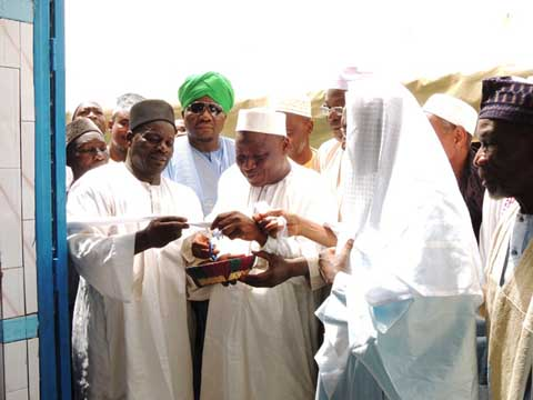 Boulmtoré: La Fondation Hadja Bibata inaugure la maison d'Allah