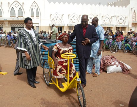 SAP Olympic: Les handicapés ne sont point mis en marge de la société