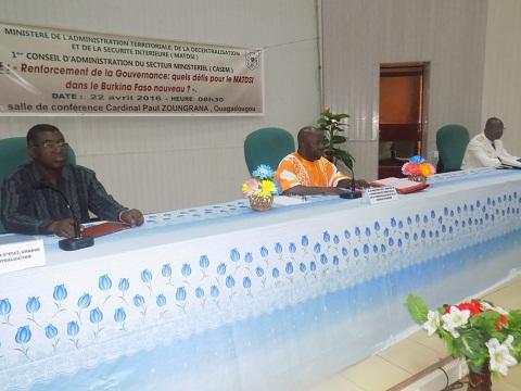 CASEM 2016 du ministère de l'administration territoriale: Sous le signe de la bonne gouvernance