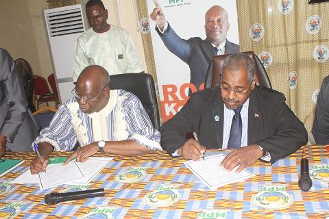 Coopération: Le MPP du Burkina et le PCN du Soudan désormais main dans la main