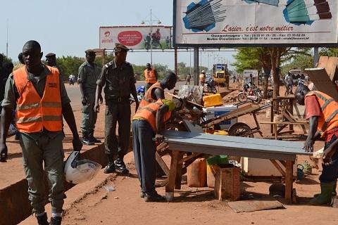 Assainissement de la voie publique: Des commerçants sommés de libérer les lieux