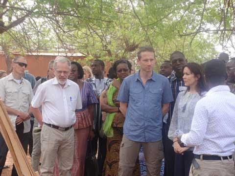 Santé sexuelle et reproductive: La princesse héritière Mary du Danemark prend le pouls des réalités du Burkina Faso