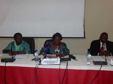 Session ordinaire du Conseil supérieur de la magistrature: La nomination et l'affectation des magistrats au menu