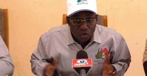 Marcel  Tankoano, président du  M21: «La situation du Burkina est grave et il faut que les nouvelles autorités reprennent le contrôle à temps»