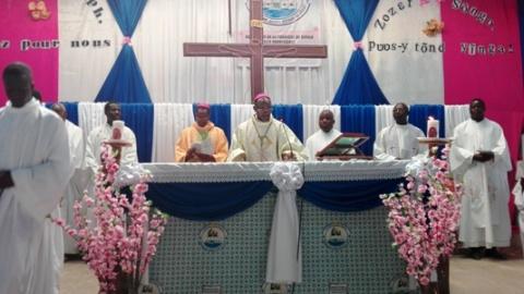 Ouverture de la paroisse saint Joseph de Gogo