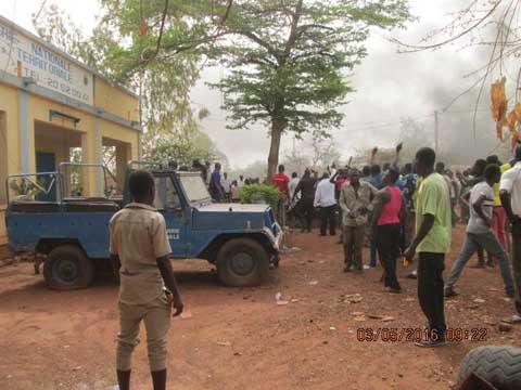 Dédougou: La ville en effervescence à la suite du décès d'un gardé à vue