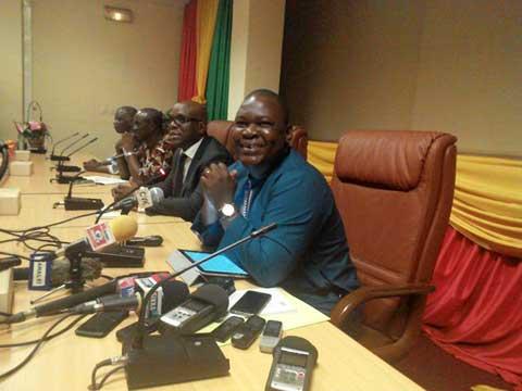 Boureima Ouédraogo aux journalistes: «Nous ne pouvons pas brader et sacrifier toutes les victoires de notre peuple […] sur l'autel de nos égoïsmes»