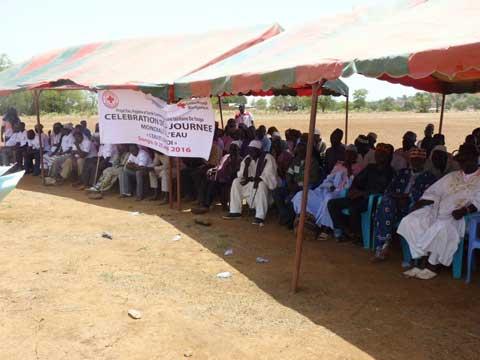 Journée mondiale de l'eau: La Croix- Rouge burkinabè a fêté à Songo